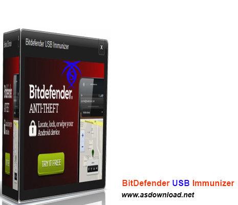 دانلود BitDefender USB Immunizer 2.0.1.9 نرم افزار محافظ فلش یو اس بی