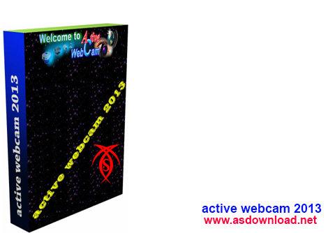 نرم افزار کنترل حرفه ای دوربین مخفی و دیجیتالی Active Webcam 2013