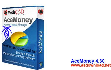 دانلود نرم افزار AceMoney 4.30 – حسابداری و مدیریت مالی