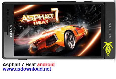 دانلود بازی مسابقه Asphalt 7 برای موبایل