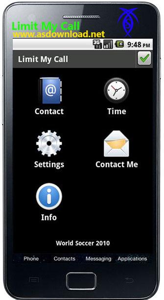 دانلود نرم افزار ایجاد محدودیت زمانی برای تماس ها موبایل