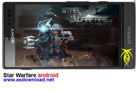 دانلود بازی Star Warfare برای موبایل-بازی آندروید