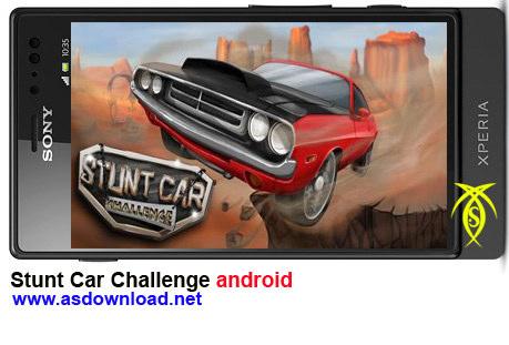دانلود بازی آندروید -بازی رالی Stunt Car Challenge android