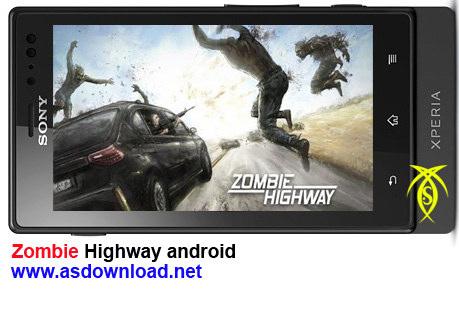 دانلود بازی Zombie Highway برای موبایل