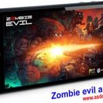 دانلود بازی اکشن آندروید- Zombie evil android