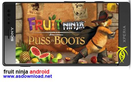 دانلود بازي fruit ninja براي آندرويد