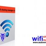 راه اندازی شبکه اینترنت خانگی با  wifi sharing manager v 2