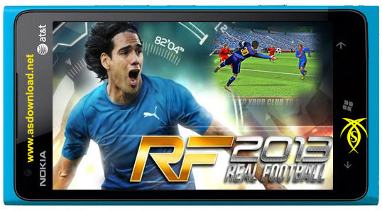 دانلود بازی real football 2013 برای موبایل