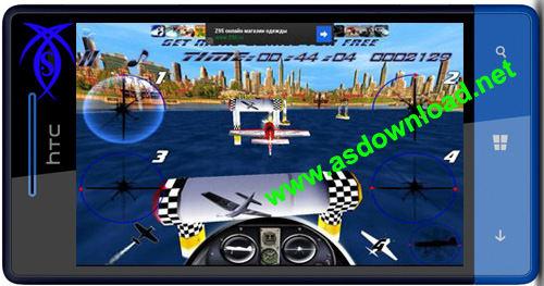 بازی مسابقه هوایی برای آندروید -AirRace SkyBox