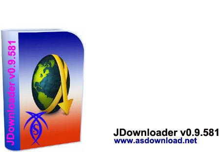 دانلودر پرسرعت JDownloader v0.9.581
