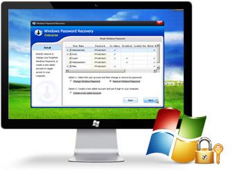 دانلود نرم افزار شکستن قفل ویندوز- Windows Password Remover 7