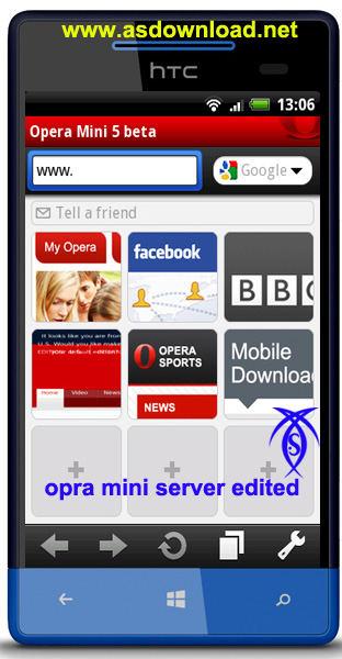 نسخه سالم مرورگر opera mini برای آندروید