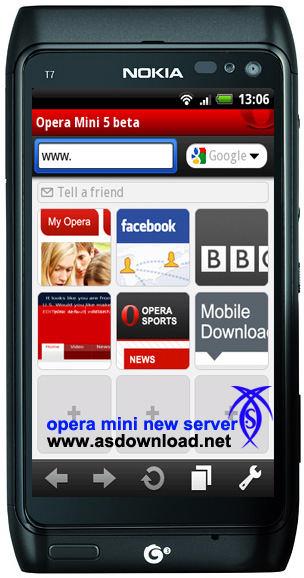 دانلود نسخه سالم مرورگر opera mini برای گوشی های جاوا