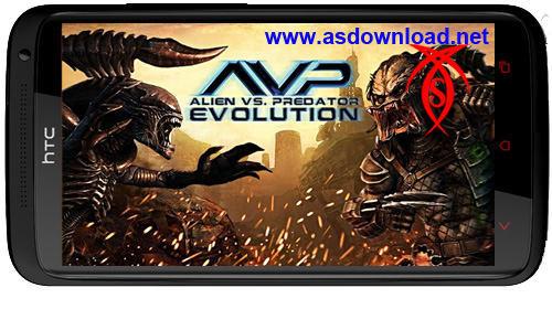دانلود بازی جدید آندروید – AVP Evolution android