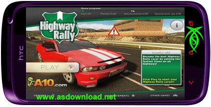 دانلود بازی رالی برای آندروید Highway Rally