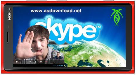 دانلود نرم افزار اسکایپ برای نوکیا Skype 1.5 Series 60