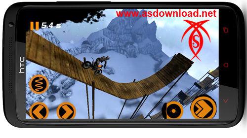 دانلود بازی موتور سواری اکستریم زمستان 2 برای آندروید Trial Xtreme 2 Winter