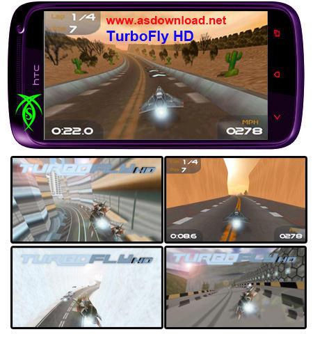 دانلود بازی سه بعدی TurboFly HD برای آندروید