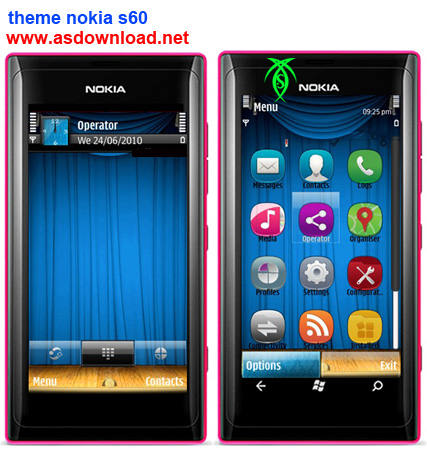 دانلود تم جدید برای نوکیا- themes nokia s60
