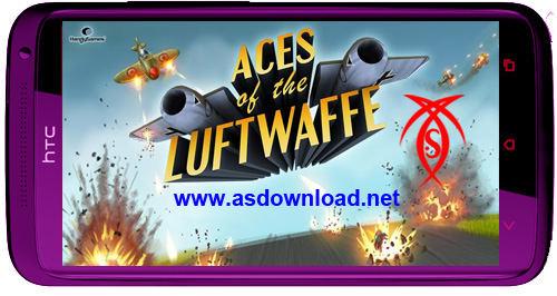 دانلود بازی حمله به بریتانیا برای آندروید- Aces of the Luftwaffe v1.0.4