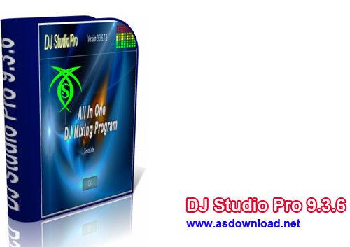 دانلود نرم افزار آهنگ سازی DJ Studio Pro 9.3.6