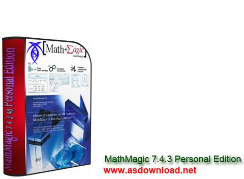 دانلود نرم افزار تایپ فرمول های ریاضی MathMagic 7.4.3.48 Personal Edition