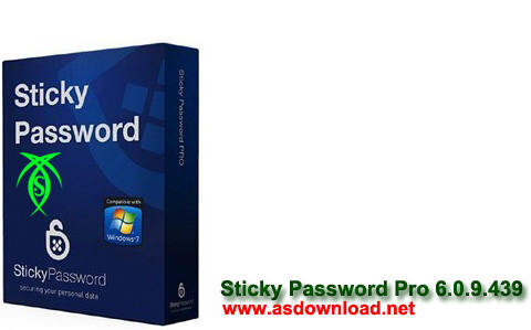دانلود نرم افزار مدیریت و ذخیره سازی تمامی پسوردها - Sticky Password Pro 6.0.9.439