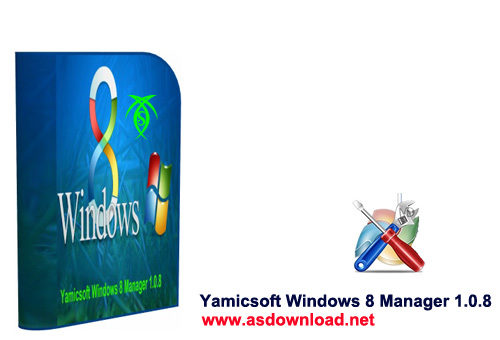 دانلود نرم افزار افزایش سرعت ویندوز 8 – Yamicsoft Windows 8 Manager 1.0