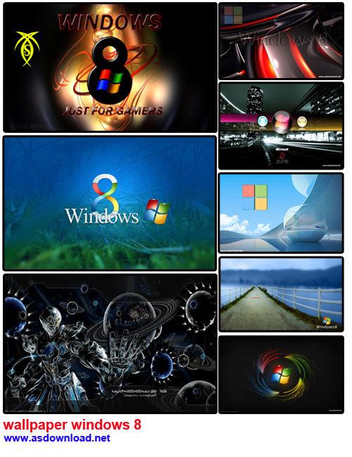 دانلود 20 والپیر جدید برای ویندوز 8 -  wallpaper windows 8 hd
