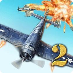 دانلود AirAttack 2 - WW2 Airplanes Shooter - بازی اکشن هواپیمایی اچ دی اندروید