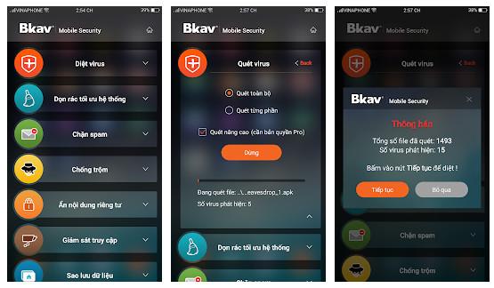 Bkav Security Antivirus Free 1