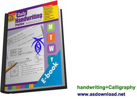 دانلود کتاب آموزش خوشنویسی زبان انگلیسی