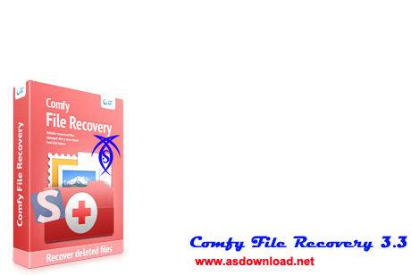 نمایش و بازیابی فایل های حذف شده از فلش و انواع حافظه با Comfy File Recovery 3.3