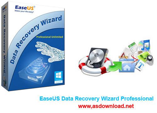دانلود نرم افزار بازیابی اطلاعات حذف شده EaseUS Data Recovery Wizard Professional 10.0.0