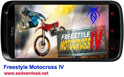 دانلود بازی موتور سواری Freestyle Motocross IV برای آندروید