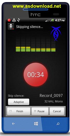 دانلود نرم افزار ضبط صوت خبرنگاری Smart Voice Recorder برای آندروید