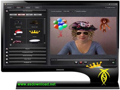 دانلود نرم افزار استفاده از دوربین های دیجیتال به عنوان وب کم و ایجاد افکت روی چت ویدئویی- SparkoCam 1.3.3