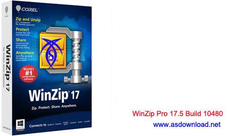 نسخه جدید قوی ترین نرم افزار فشرده سازی WinZip Pro 17.5 Build 10480