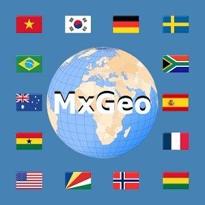 دانلود World atlas & map MxGeo Pro 6.5.6 - اطلس جهان شناسی برای اندروید