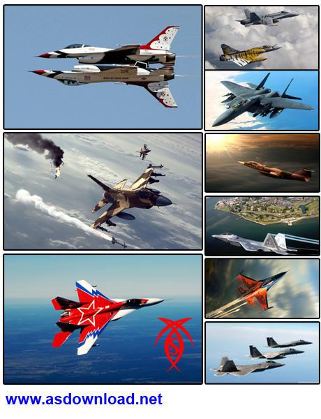 دانلود عکس هواپیماهای نظامی با کیفیت Full HD