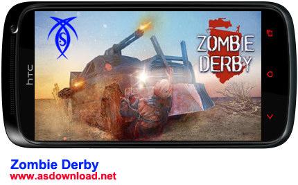 دانلود بازی Zombie Derby  برای آندروید