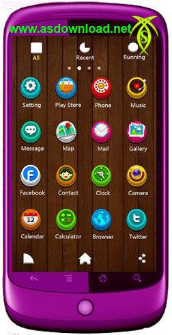 دانلود تم زیبای S-Lu Launcher برای گوشی های گالکسی سامسونگ و آندروید