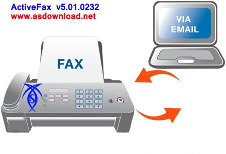 ارسال و دریافت فکس از طریق ایمیل  ActiveFax v5.01.0232