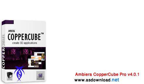نرم افزار ساخت برنامه های سه بعدی Ambiera CopperCube Pro v4.0.1