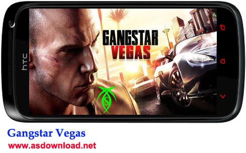 دانلود بازی جنگی Gangstar Vegas برای آندروید + دیتا