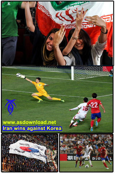 Iran wins against Korea