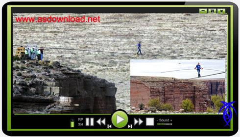 دانلود فیلم بندبازی و راه رفتن نیک والندا بر فراز دره گراندکانیون- Nik Wallenda over Grand Canyon