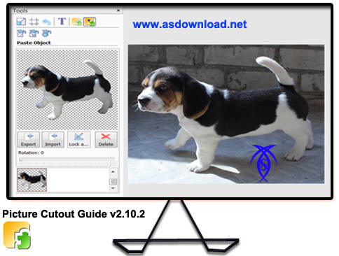 دانلود نرم افزار حذف پس زمینه تصاویر - Picture Cutout Guide v2.10.2