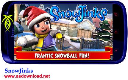 گیم برف بازی Snow Jinks برای آندروید + دیتا