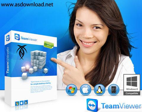 دانلود TeamViewer v8.0.16447 - نرم افزار کنترل از راه دور کامپیوتر